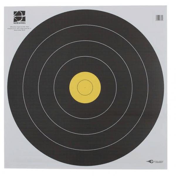Мишень бумажная WA 60 см, 80 см Field Black